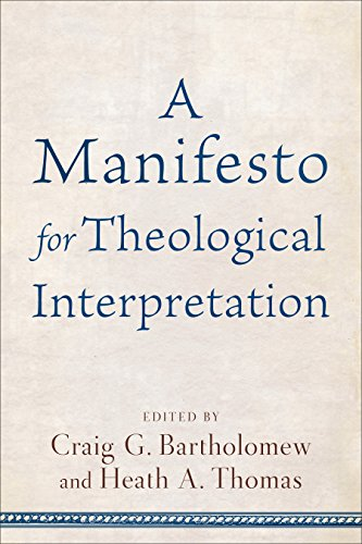 A Manifesto for Theological Interpretation for sale  Delivered anywhere in USA