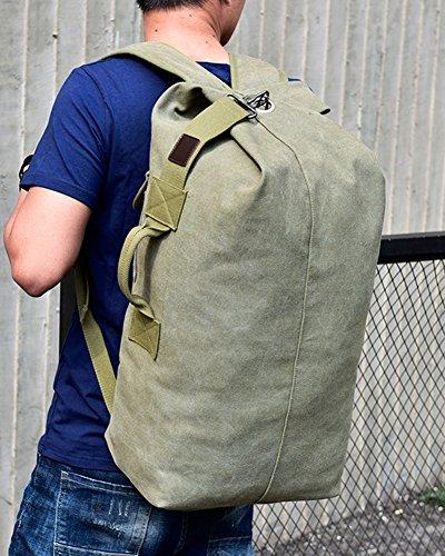 Herren Freizeit Sport Outdoor Daypacks Rucksäcke Multifunktionstasche Reiserucksack Tagesrucksack Schulrucksack Khaki / Klein Armeegrün / Groß 7NSDB2