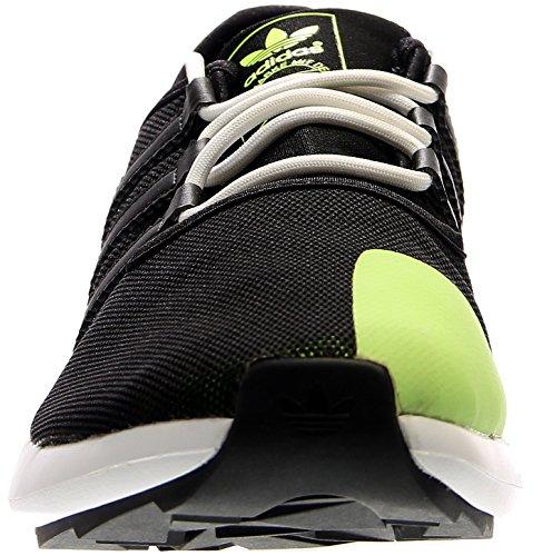 Adidas Originali Mens Moda Sl Rise Sneaker Nero / Giallo Solare / Bianco