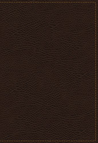 The King James Study Bible, Bonded Leather, Brown, Full-Color Edition