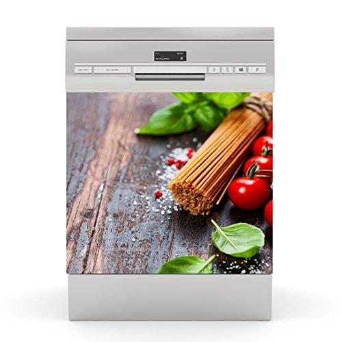 Dishwasher Sticker Spaghetti 1 wodtke-werbetechnik