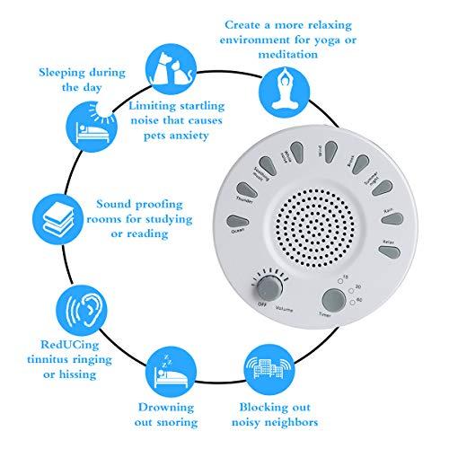 White Noise Machine Sleeping, Sleep Sound Machine, AHNR Fidelity Natural Sounds