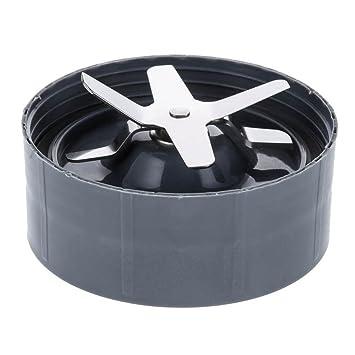 NutriBullet - Cuchilla de repuesto para batidoras de vaso NutriBullet modelos 600 W y 900 W (1 unidad, color gris): Amazon.es: Hogar