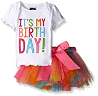 Mud Pie Little Girls' Birthday Tutu Set