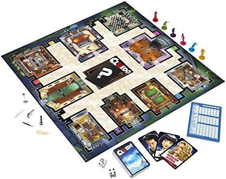 Hasbro Gaming - Juego en familia Cluedo (Hasbro 38712) (versión alemana) , color/modelo surtido: Amazon.es: Juguetes y juegos