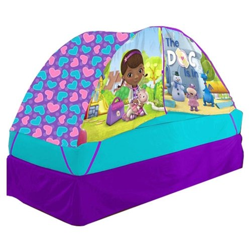 (Disney Doc McStuffins Bed Tent with Pushlight)