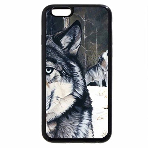 iPhone 6S / iPhone 6 Case (Black) The Lone Howler