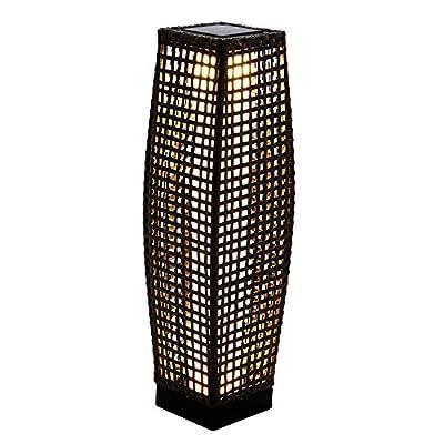 Grand Patio Outdoor Solar Floor Lamp