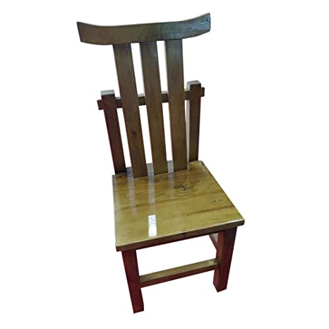 Amazon.com - Solid Wood Dining Chair Chair Antique White Oak ...
