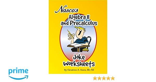 Amazon.com: Nasco TB20656T Algebra II and Precalculus Joke ...
