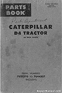 cat d4 dozer technical service shop manual crawler tractor bulldozer rh amazon com D3 Dozer D9 Dozer