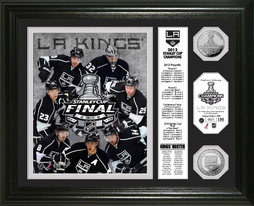 """NHL  2012 Stanley Cup Champions """"Banner"""" Gold Coin Photo Mint"""