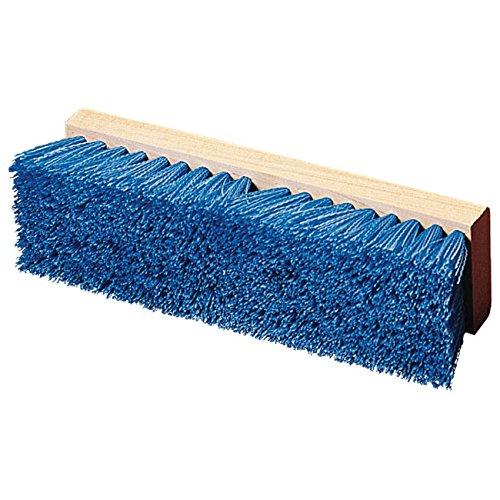 HUB City Industries 910B Blue Poly Deck Brush 10 x 2 Deck Brush 10 x 2 Deck Brush