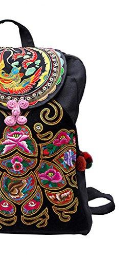170 Oriental Besace Main Fait Dos Femme 100 Sac à Broderie Tribal d'Art HgwvqP7