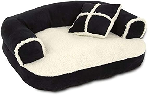 Petmate Aspen Pet Sofa Bed with Pillow