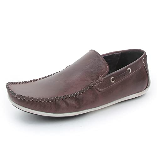 Bacca Bucci Men Brown PU Loafers 10 UK th5UetO