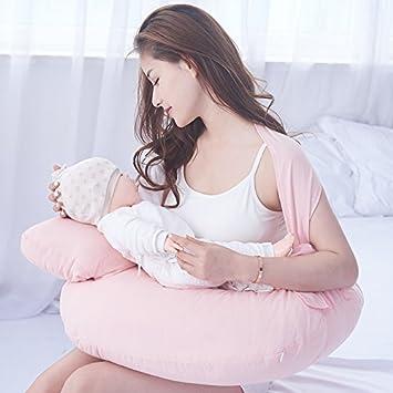 LUOTIANLANG Lactancia almohada almohada para bebé correa ...