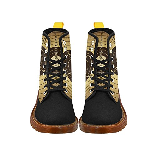 gun Bullet Lace Fashion For Boots Holes Print Men Up Shoes InterestPrint OdwAAq