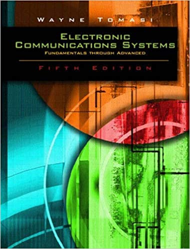 wayne tomasi electronics communication book
