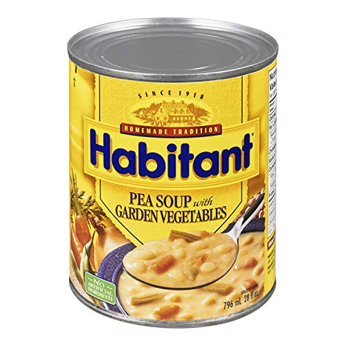 Habitant Pea With Garden Vegetable Soup, 796ml Imported from Canada ()