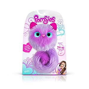 Pomsies 1881 Boots Plush Interactive Toys, One Size, Purple from Skyrocket