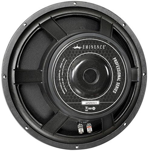 Eminence ProSeries KAPPA PRO-15LFC Channel Monitor Speaker and Subwoofer Part by Eminence