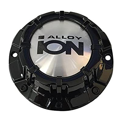 Ion Alloy C10186B 81011680-CAP LG1109-05 Black Wheel Center Cap: Automotive