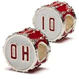 Ohio State OH-IO Drum Bead Set of 2