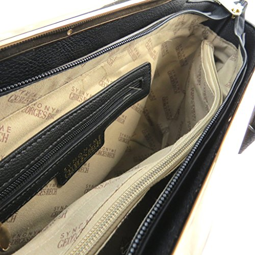Creador bolsa 'Georges Rech'negro - 39x23x14 cm.