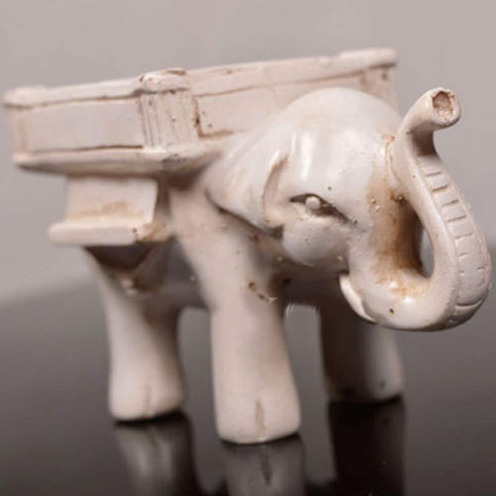GerTong R/étro Elephant Tea Light Chandelier Bougeoir De Mariage D/écor /À La Maison Artisanat d/étenteurs de lumi/ère de th/é Hibou photophore