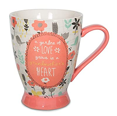 Pavilion Gift Company 74034 Grandmother Ceramic Mug, 16 oz, Multicolored