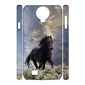 DDOUGS Horse Best Cell Phone Case for SamSung Galaxy S4 I9500, Custom SamSung Galaxy S4 I9500 Case