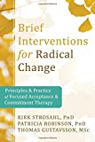 img - for Brief Interventions for Radical Change: Principles and Practice of Focused Acceptance and Commitment Therapy book / textbook / text book