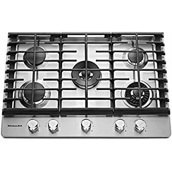 gas cooktop with griddle. KITCHENAID KCGS950ESS 30\ Gas Cooktop With Griddle