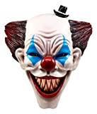 Ebros It Killer Mannequin Clown Head Wall Decor Sculptural Hanging Plaque 15.5''Tall Taxidermy Art Decor Sculpture Halloween Horror Wall Bust Plaque