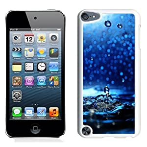New Beautiful Custom Designed Cover Case For iPod 5 With Water Dripping Close Up (2) Phone Case