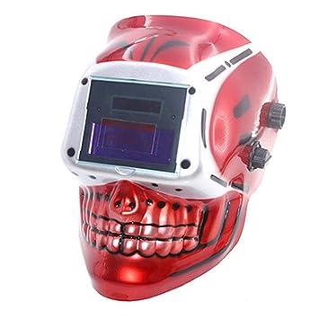 LAIABOR Casco Solar-Alimentadosoldadura Oscurecimiento Automático Máscara De Soldadores Molienda para Máscara De Soldador De Soldadura por Arco: Amazon.es: ...