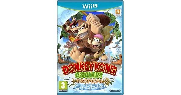 Donkey Kong Country: Tropical Freeze (Nintendo Wii U) by Nintendo ...