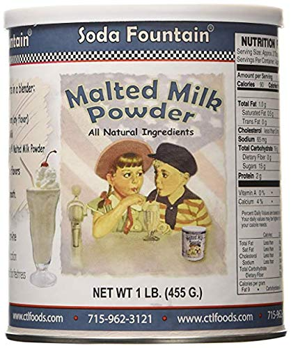 - Soda Fountain Soda Fountain Malted Milk Powd