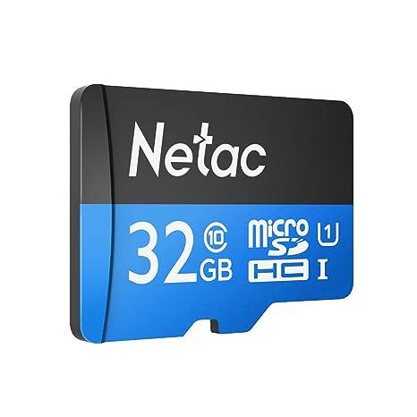 Netac Tarjeta de Memoria 32G P500, Micro SDHC TF Flash, UHS ...