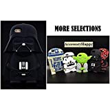 [FAST SHIP USA!] Cartoon 3D STAR WARS iPhone SE Soft Silicone Case Cover For iPhone 5/5S/5SE (SW Darth Vader)