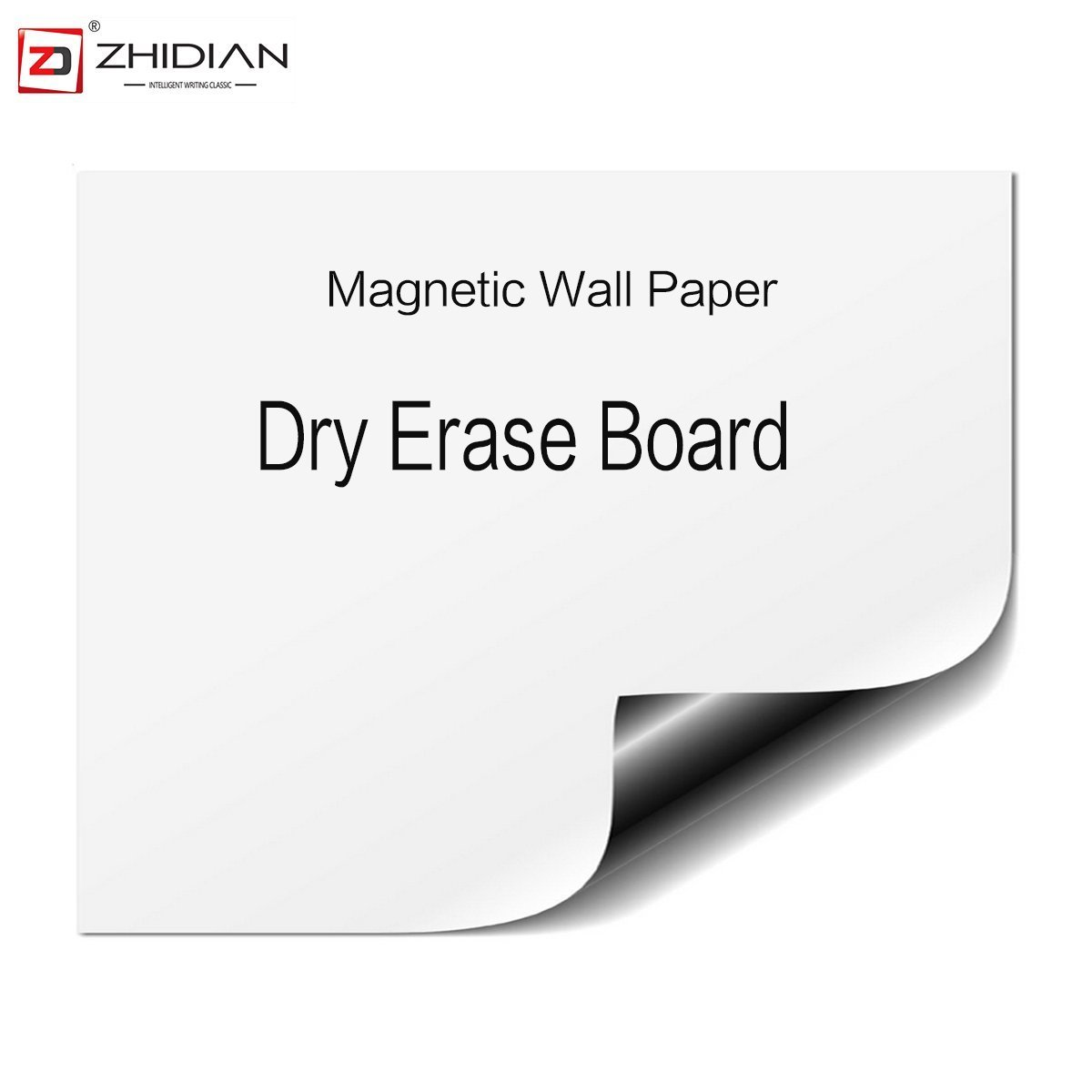 ZHIDIAN Magnetic White Boards Dry Erase Boards Wall Stickers 16×12 Inches There are Adhesive on The Backs Easy to Install.
