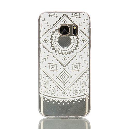 360 Full Hard Plastic Case for Samsung S7 Edge (White) - 4