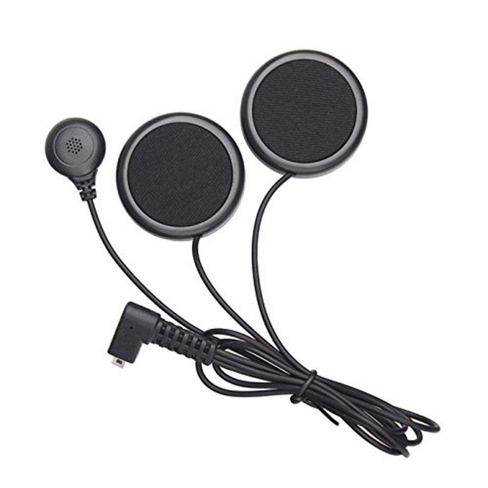 FreedConn Microphone Headphone Speaker Soft Cable Headset Accessory for Motorcycle Helmet Bluetooth Interphone intercom for TCOM FDCVB and Colo