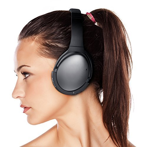 AirMod Wireless Bluetooth Adapter for Bose QuietComfort 25 Headphones (QC25) by Bolle & Raven