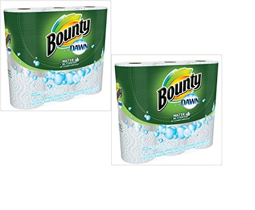 Bounty With Dawn Paper Towels - 3 Pack. | Trusted Procter & Gamble Home Brands (6-Pack Paper Towels)