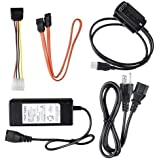 DoHonest SATA/PATA/IDE Drive to USB 2.0 Adapter Converter Cable