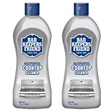 Bar Keepers Friend Multipurpose Ceramic and Glass Cooktop Cleaner   13-Ounces   2-Pack