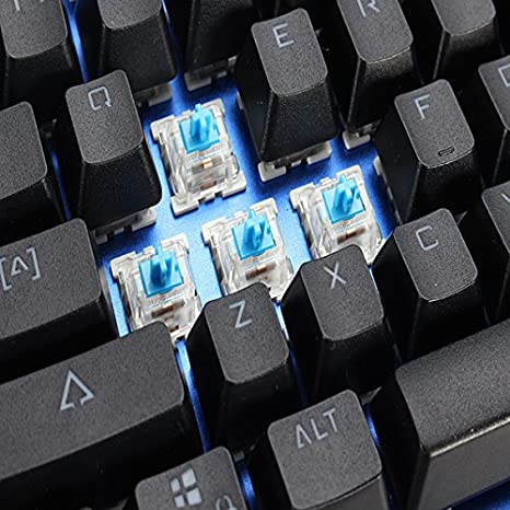 20148e1043d Mantistek® GK2 104 Tasten NKRO RGB Change - Red/Blue/Black - Brown Mechanical  Gaming Keyboard blue blue: Amazon.co.uk: Computers & Accessories