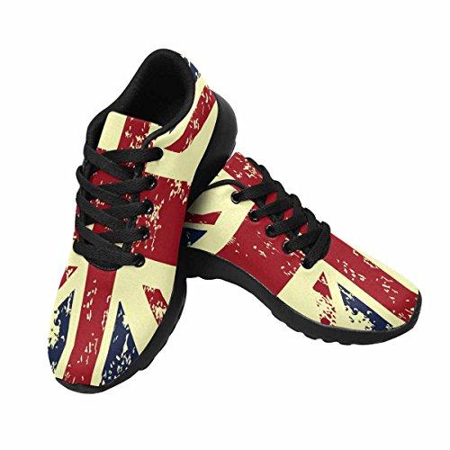 Interestprint Femmes Jogging Running Sneaker Léger Aller Facile Confort De Marche Sport Chaussures De Course Multi 5